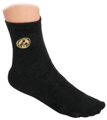 Black ESD Socks